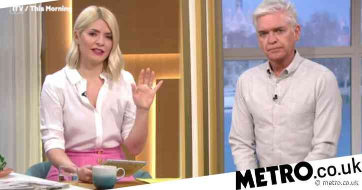Holly Willoughby 'feels sad' for Prince Philip as she says he 'deserves privacy' when leaving hospital