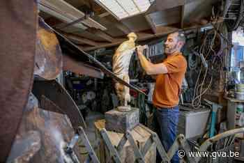 Over de vloer bij kunstenaar Bart Vankrunkelsven - Gazet van Antwerpen