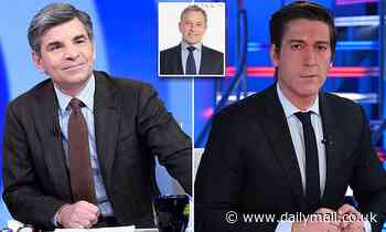 George Stephanopoulos 'threatened to leave ABC over rivalry with David Muir'