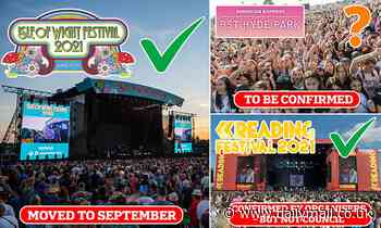 Isle of Wight Festival is moved back to September after June proved too early