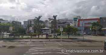 Praça de Santo Antonio de Jesus é fechada para evitar aglomeração de pessoas - Criativa On Line