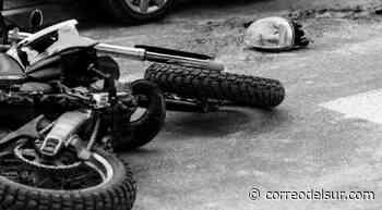 Motociclista fallece tras chocar con un trufi en Villa Charcas - Correo del Sur