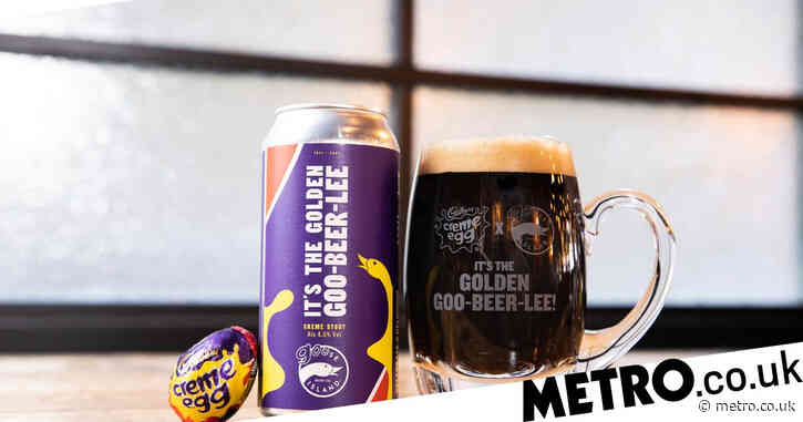 Creme Egg launches beer designed to taste like the Easter treat