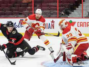 Thanks to language lessons, Flames defenceman Nesterov feels more at home in second NHL stint - Calgary Sun