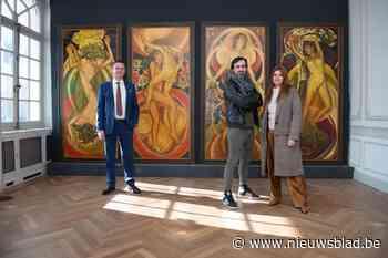 Werk van Luc-Peter Crombé dan toch te zien in Wallemote