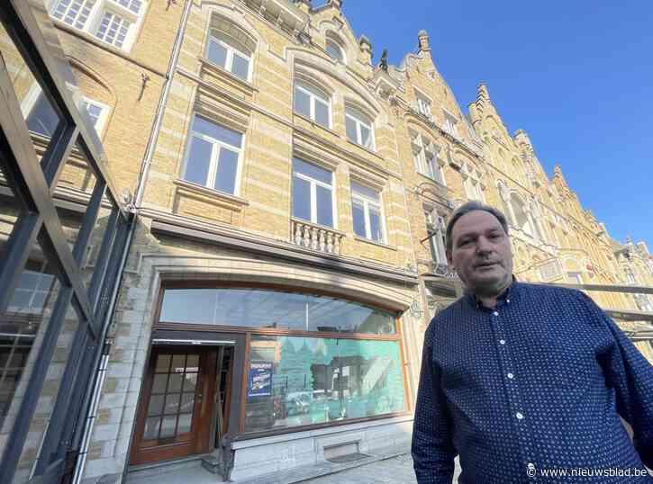 """Wielerknecht achter Westhoek-Hotels investeert in nieuw restaurant op Grote Markt: """"De mensen verklaren mij zot"""""""