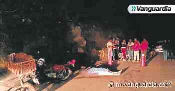 Motociclista murió en accidente de tránsito en la vía Tona - Bucaramanga, Santander - Vanguardia
