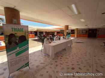Aplican vacuna contra COVID-19 a personal médico de Emiliano Zapata - tabasco hoy