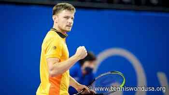 David Goffin 'thrilled' after winning his first ATP title since 2017 - Tennis World USA