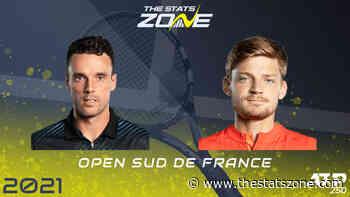 2021 Open Sud de France Final – Roberto Bautista Agut vs David Goffin Preview & Prediction - The Stats Zone