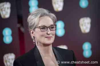 """Meryl Streep Despised Her Name Growing Up — """"I Haaaaaaaated It"""" - Showbiz Cheat Sheet"""