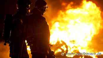 Brand in Heideck: Zwei Männer leicht verletzt - Nordbayern.de