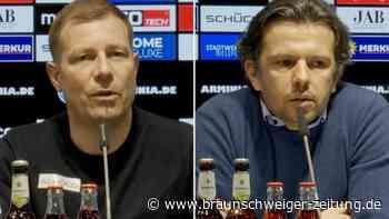 """Arminias Sport-Geschäftsführer: """"Kann Unzufriedenheit verstehen"""""""