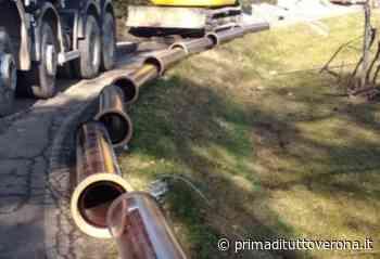Nuovo impianto di acquedotto a San Zeno di Montagna - Prima Verona