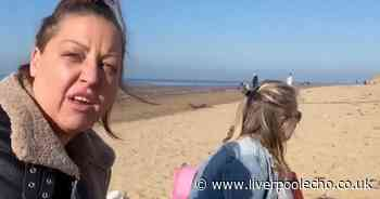 Anger at 'selfish' mum who drove 56 miles to beach for birthday