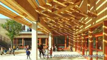 Rosny-sous-Bois : une école frugale, emblématique d'une architecture régénérative - Environnement Magazine
