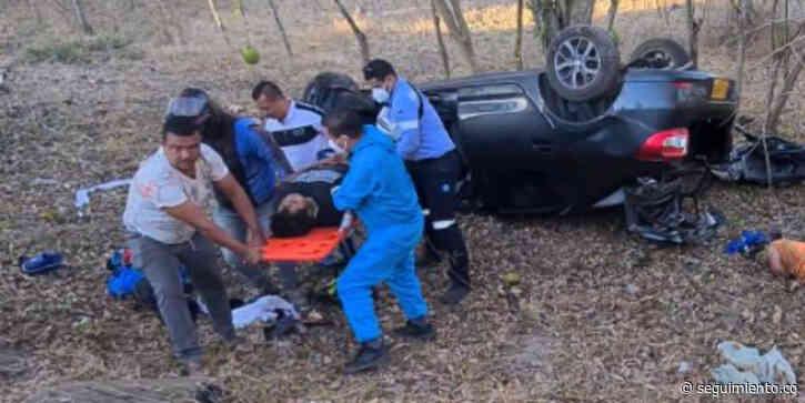 Accidente de tránsito en la vía El Copey deja tres muertos y dos personas gravemente heridas - Seguimiento.co