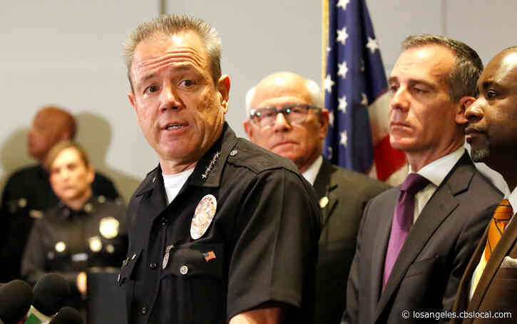 LAPD Chief Michel Moore Admitted To Hospital After 'Not Feeling Well'