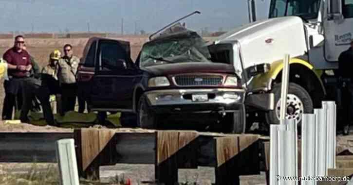 15 Tote bei schwerem Crash in Südkalifornien