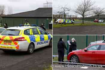 Three men stabbed in murder bid at Glasgow's Greenfield Park football pitch as cops promise to catch blade t - The Scottish Sun