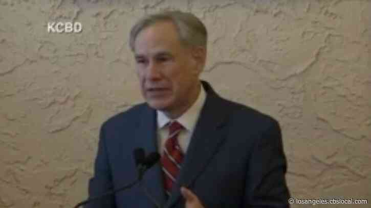 Texas Governor Greg Abbott Ends Statewide Mask Mandate, Opens State 100%