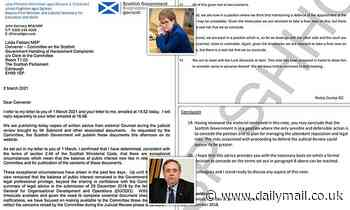 The documents that could sink Sturgeon: Full details of damning legal advice