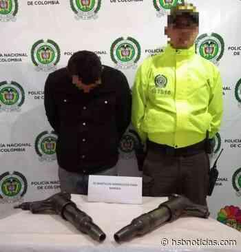 Por dos martillos hidráulicos que habían sido robado cayó en Samacá | HSB Noticias - HSB Noticias