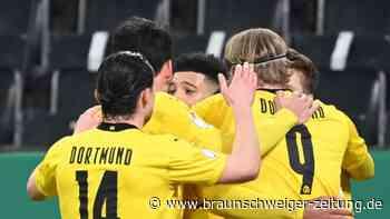 DFB-Pokal: Wieder Enttäuschung für Rose in Gladbach - BVB im Halbfinale