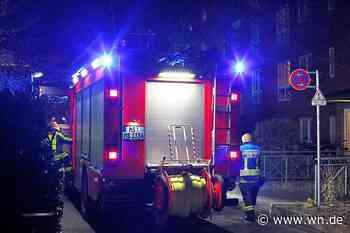 Münster: Person flüchtet verletzt nach Wohnungsbrand