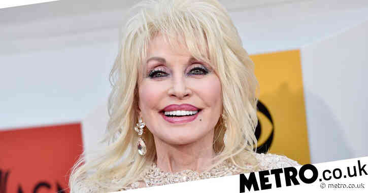 Dolly Parton glams up for Covid vaccine and urges 'cowards out there' to follow suit