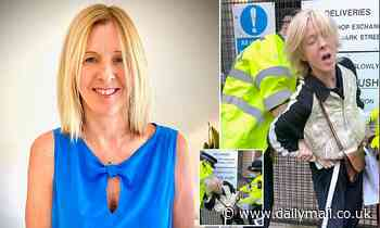 Mother, 51, strolled two miles to get a coffee - but fell foul of the long arm of the law