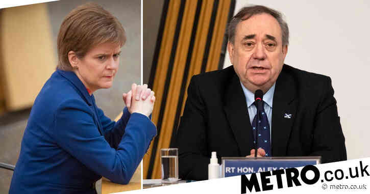Nicola Sturgeon facing vote of no confidence over Alex Salmond case legal advice