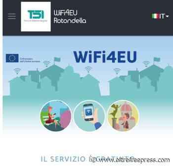 Comune di Rotondella vincitore del bando Wifi4Eu, le dichiarazioni del vice sindaco Dimatteo - Oltre Free Press