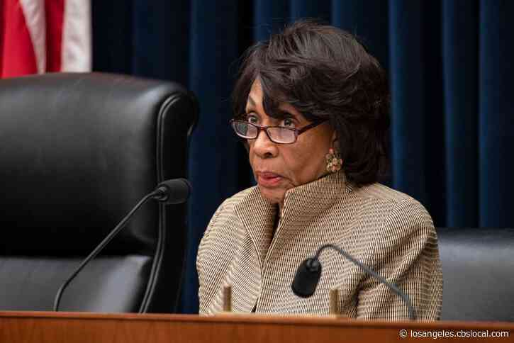 Capitol Police Investigating 2 Death Threats Against Rep. Maxine Waters