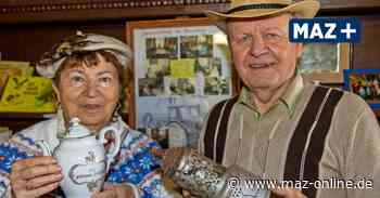 Hannelore und Eugen Falkenhagen betreiben in Buschow ein Imker- und Dorfmuseum - Märkische Allgemeine Zeitung