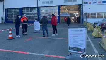 Neue Corona-Teststation für Berufskraftfahrer im Inntal - BR24