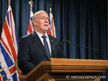B.C. Premier Horgan says not every community will get COVID-19 vaccination clinic