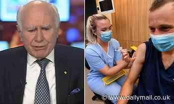 John Howard tells Alan Jones bosses should be able to ban staff who refuse Covid-19 vaccination