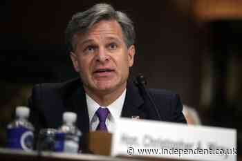 White supremacists on par with ISIS as 'top threat,' FBI director says at Capitol riot hearing