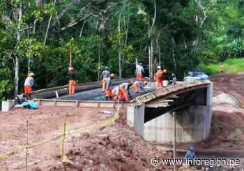 San Martín: Prosigue construcción de vía Chazuta – Curiyacu - INFOREGION