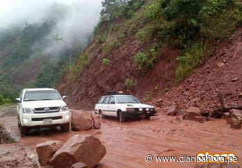 Derrumbes dañan la carretera a Chazuta - DIARIO AHORA