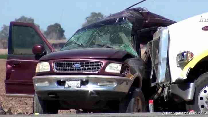 Human Smuggling Investigation Underway After 13 Killed After Big Rig, SUV Collide In Imperial County