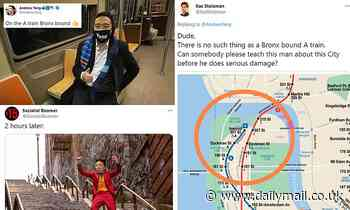 Big Apple mayoral candidate Andrew Yang says he's getting the A train to the Bronx ridiculed Twitter
