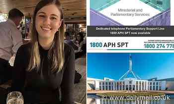 Parliament House staff sent email with helpline to talk with counsellor about sexual assault