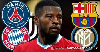 Wijnaldum next club after Liverpool could be hidden in plain sight