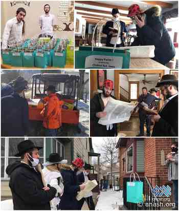 Postville Boys Bring Purim to Remote Jews - Anash.org - Good News