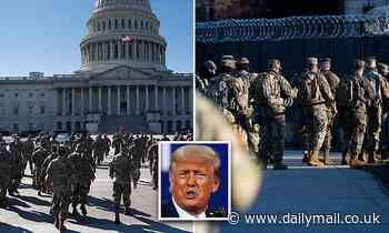 Security in DC is beefed up further amid threat from far-right group Three Percenters