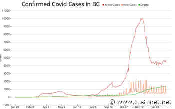 BC announces 438 new coronavirus cases, 16 in IH region - BC News - Castanet.net