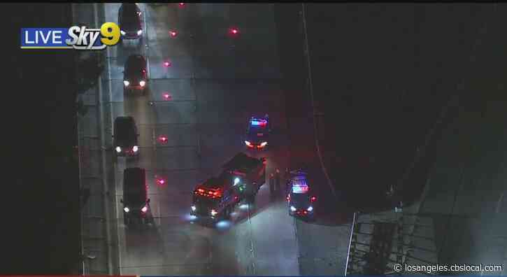 Person Killed After Being Struck On 134 Freeway In North Hollywood