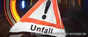Zwei Verkehrsunfälle mit Leichtverletzten - Berchtesgadener Anzeiger